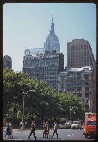 Bryant Park (1960), Charles W. Cushman